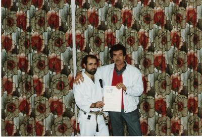 Sensei Glen Wright and Sensei Ray Fuller